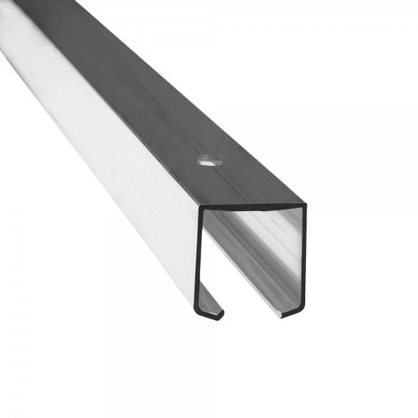 Alumīnija sliede H4US bīdāmajām durvīm (2m) līdz 40kg.
